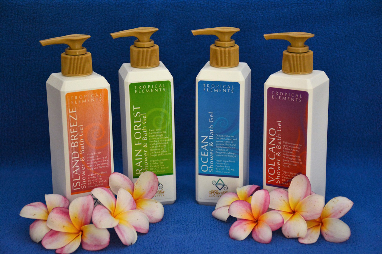 Elements Shower Gels by After Sea Aesthetics