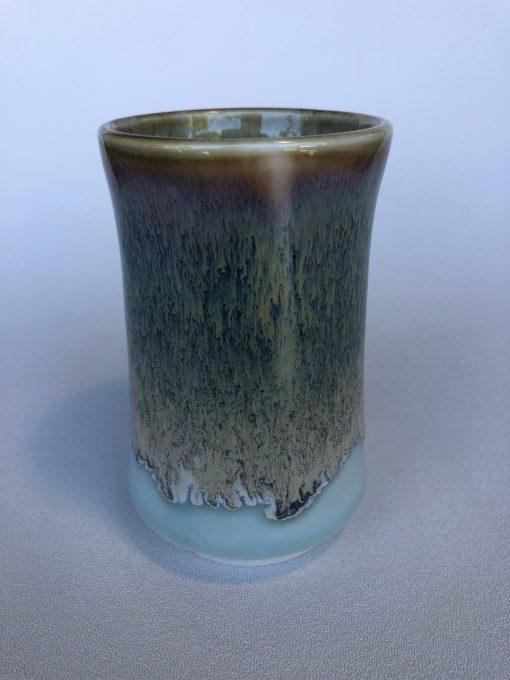 Drip Glaze Cup by Curt Stevens