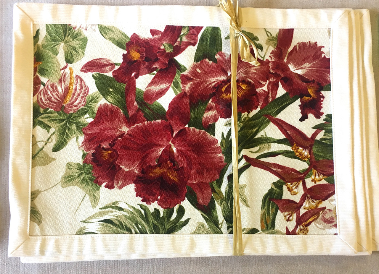 Placemat Set by Bonnie Warren in
