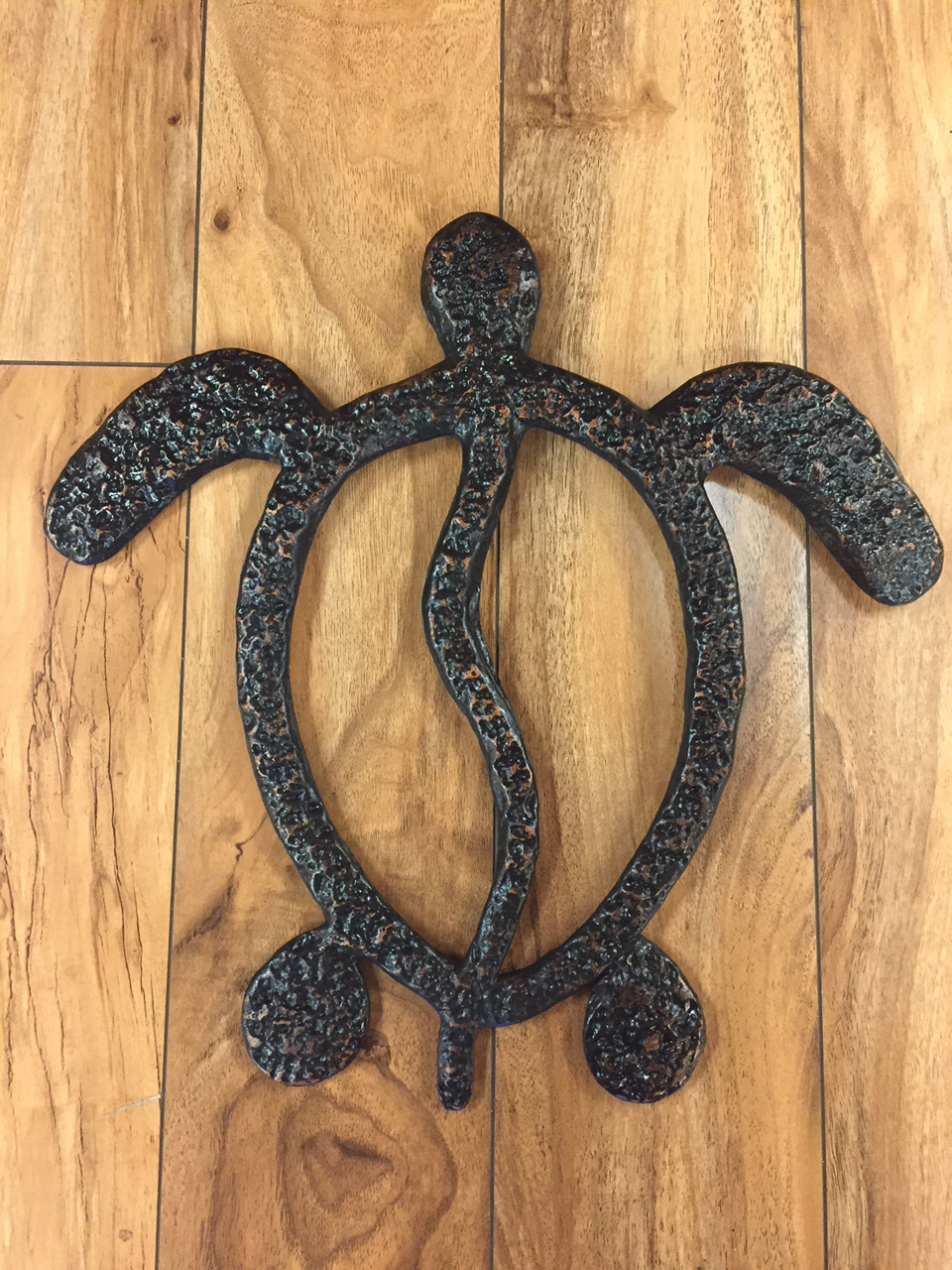 Honu by Charlie Corda wall hanging sculpture