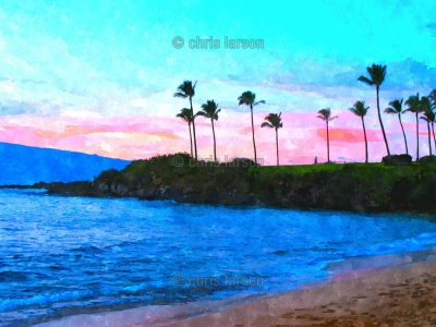 Kapalua Eve by Chris Larson