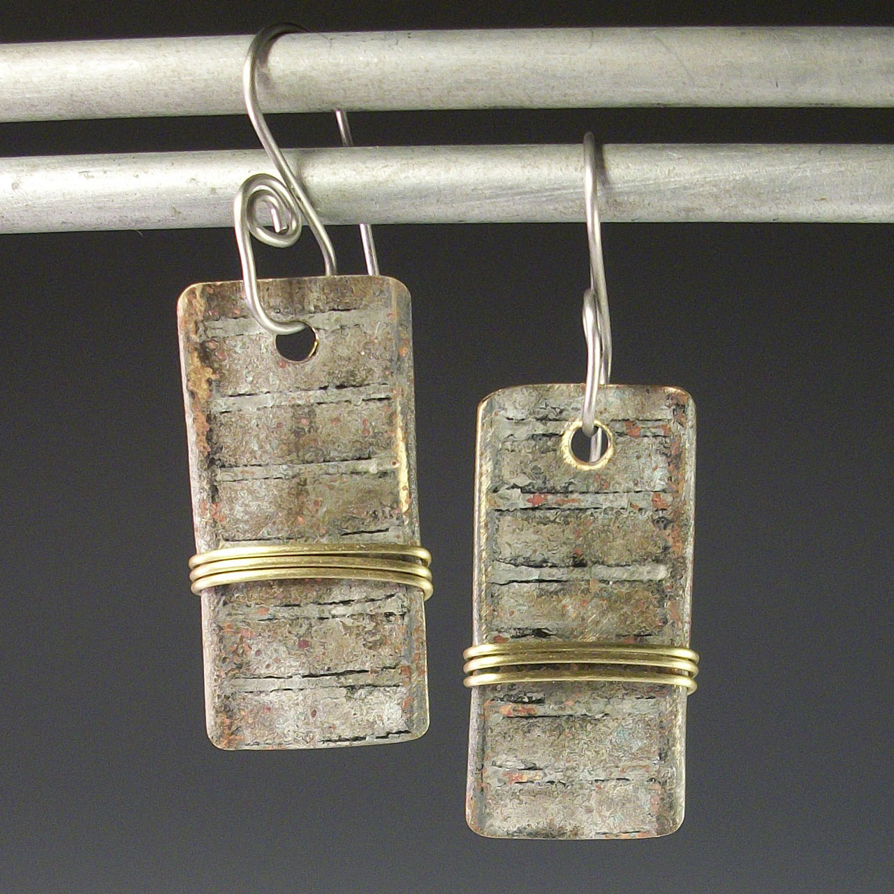 Wrapped Radiators Earrings by Mckenna Hallett
