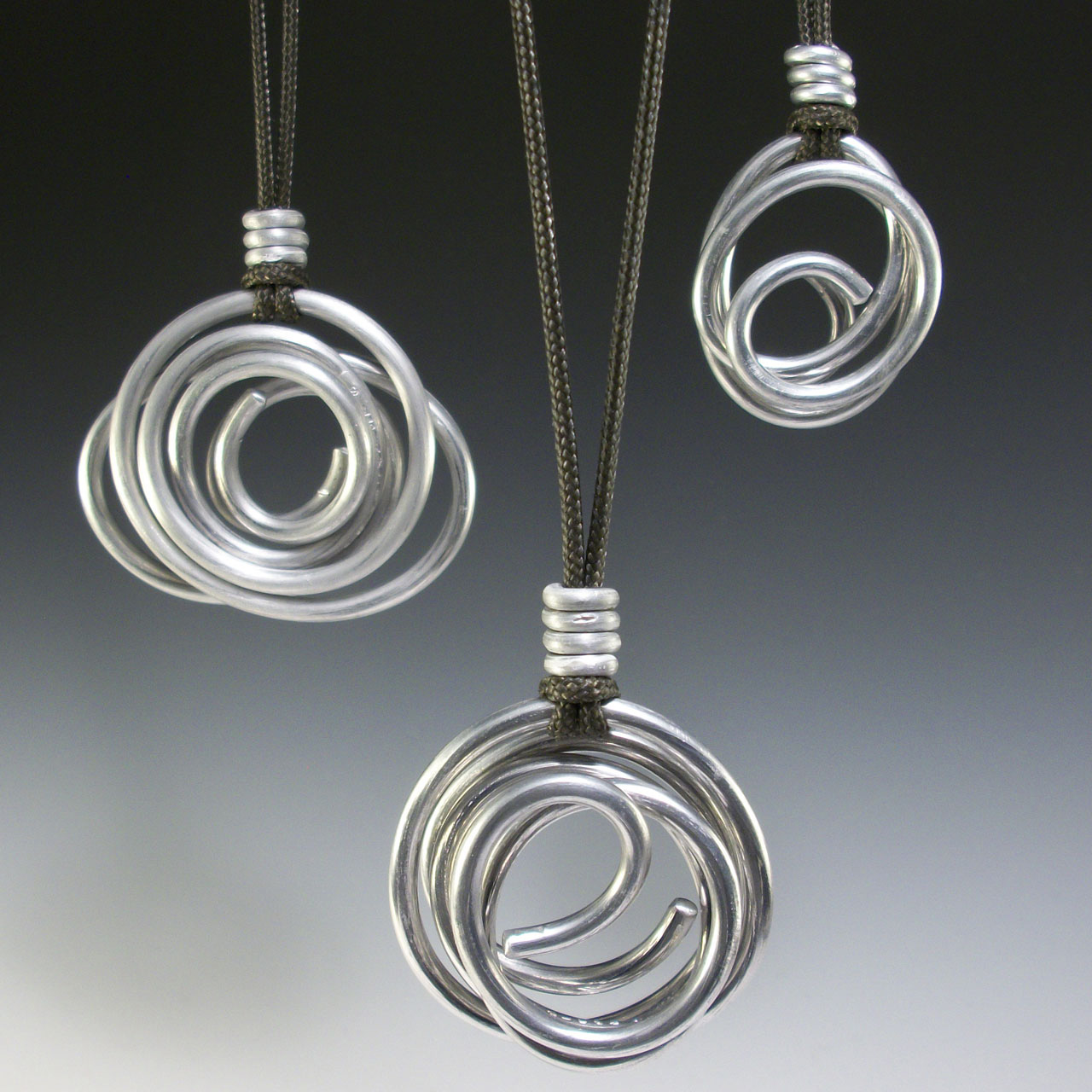 Re-circling Necklace by Mckenna Hallett
