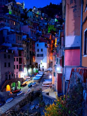 Cinque Terre Evening by Marty Wolff