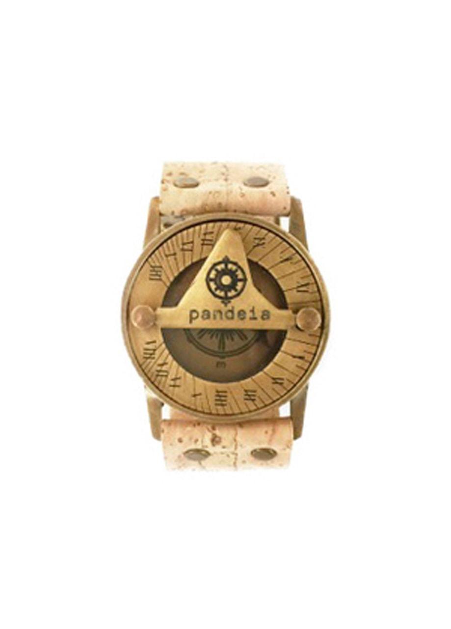 Cork compass sundial watch