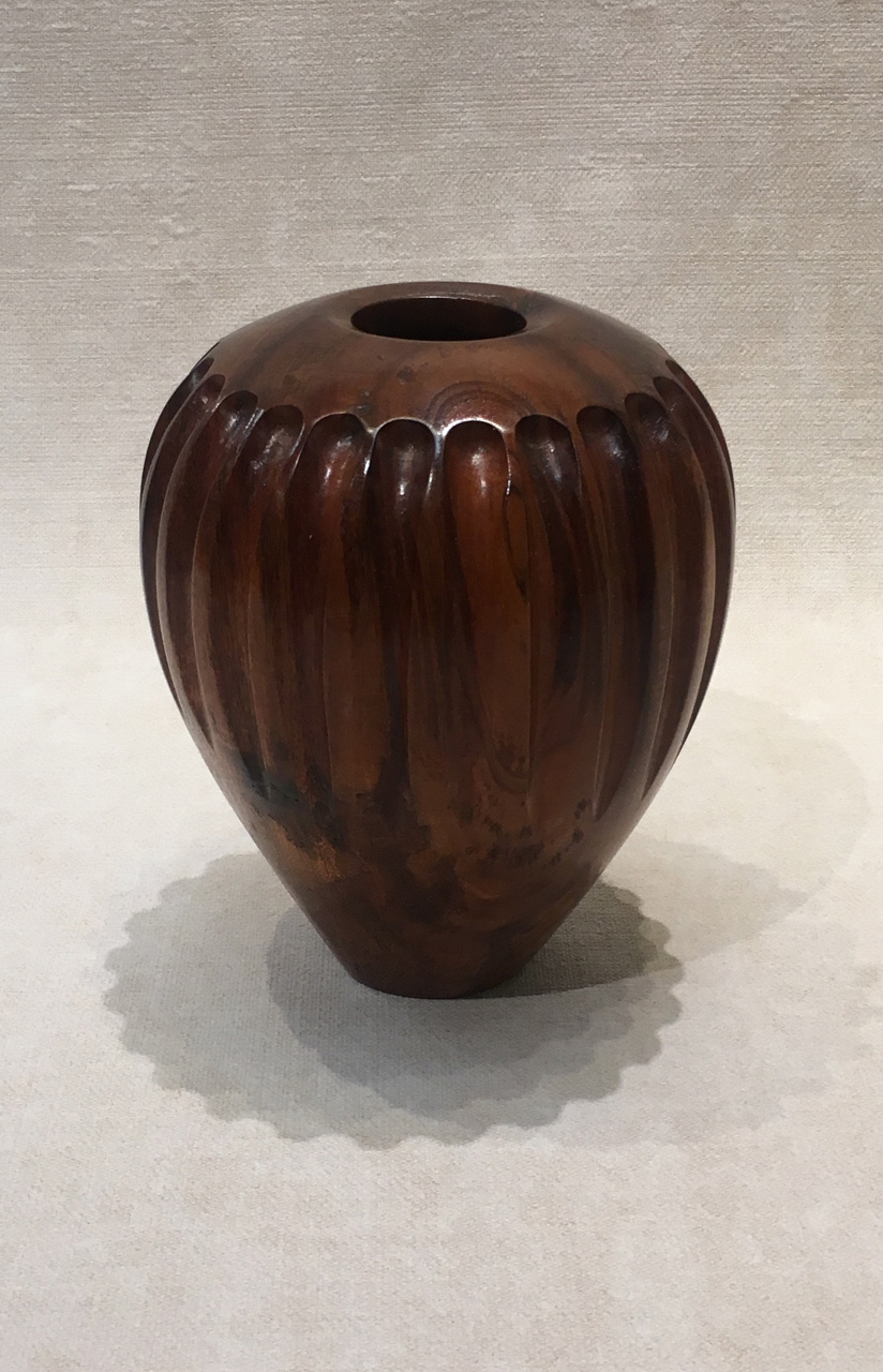 Koa Hollow Form by Debbie and Parker Nicholson