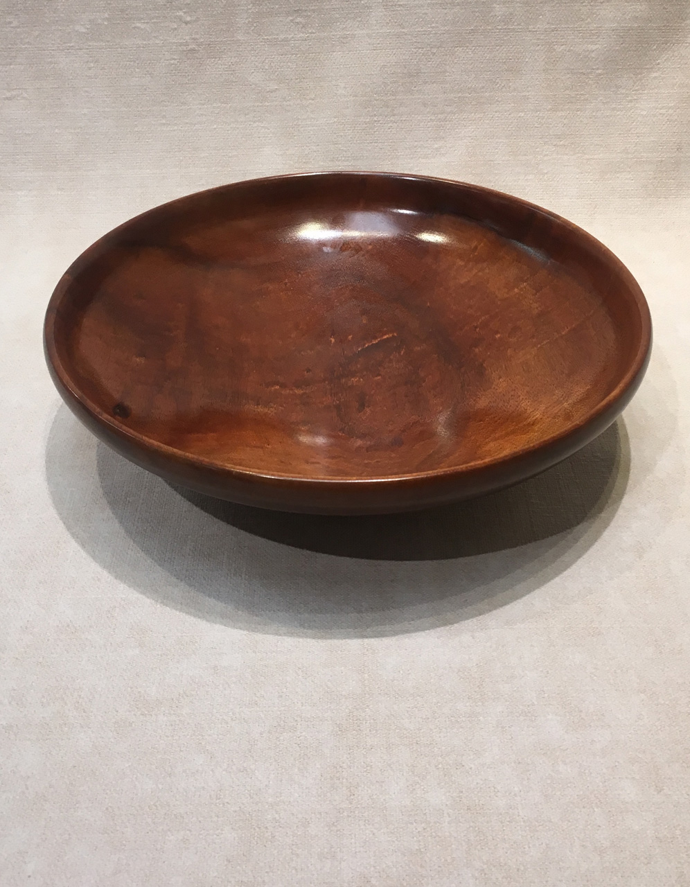 Koa Bowl by Debbie and Parker Nicholson