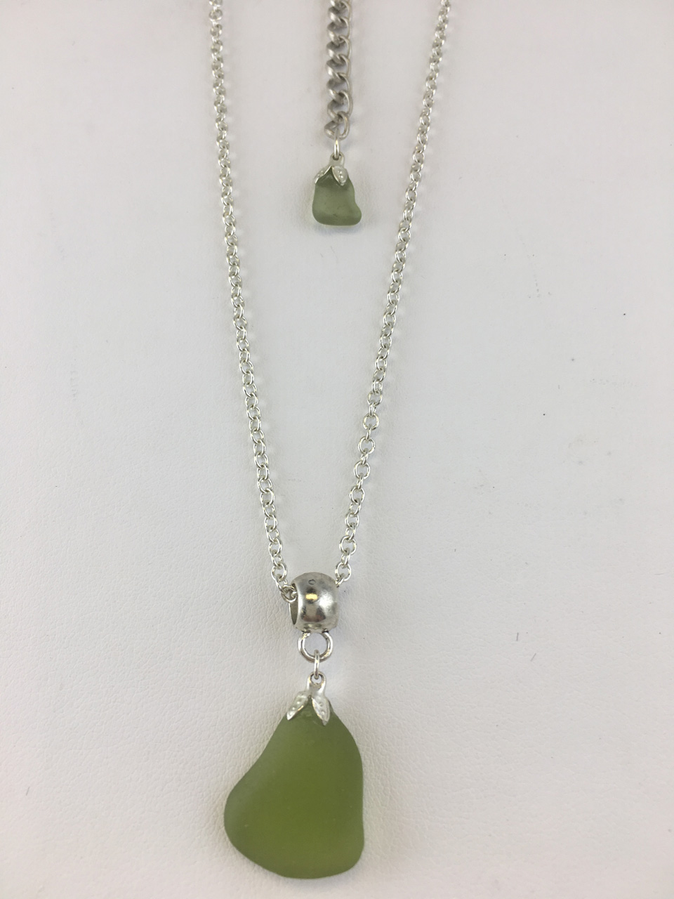 Single Sea Glass Necklace