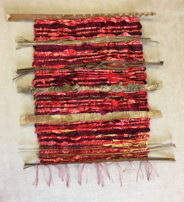 Pele Morning by Ipo Kudlich weaving