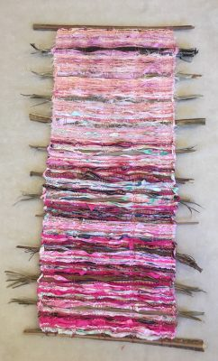 Indian Rose by Ipo Kudlich weaving