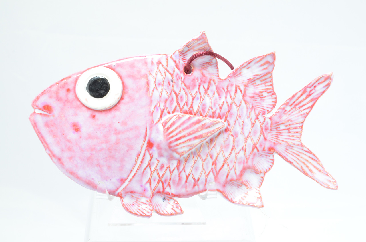 Manini by Michelle Espero decorative ceramic fish