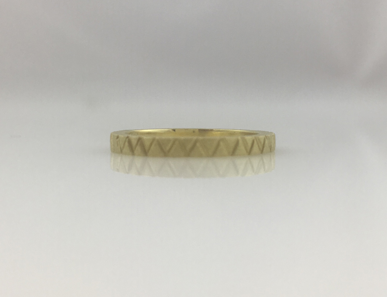 18K Gold Stacker Ring