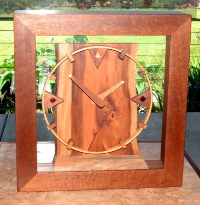 Alii Mantel Clock by Gary Forest