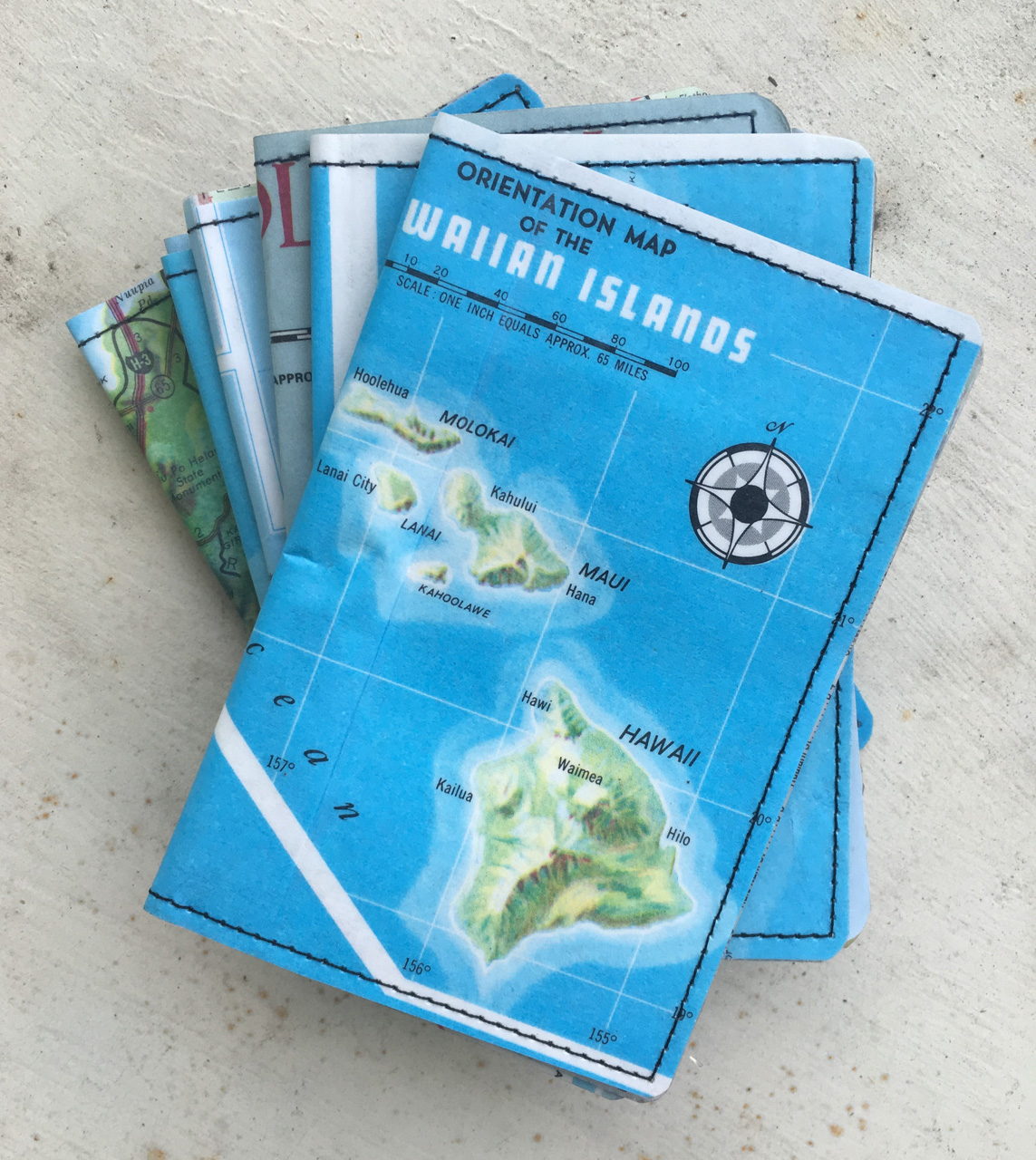 All Islands Map Wallet