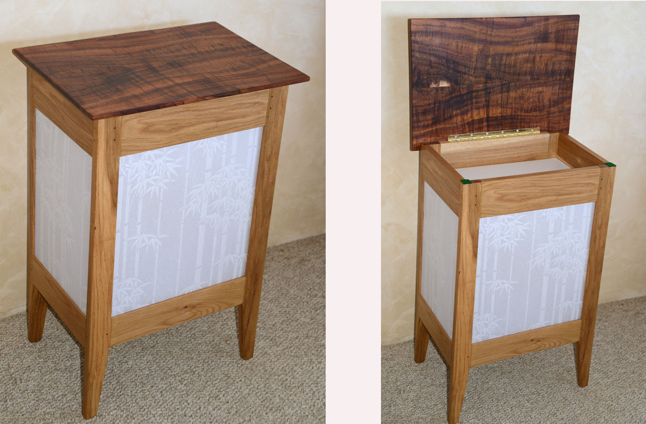 Bamboo Shoji Table by Gary Forest