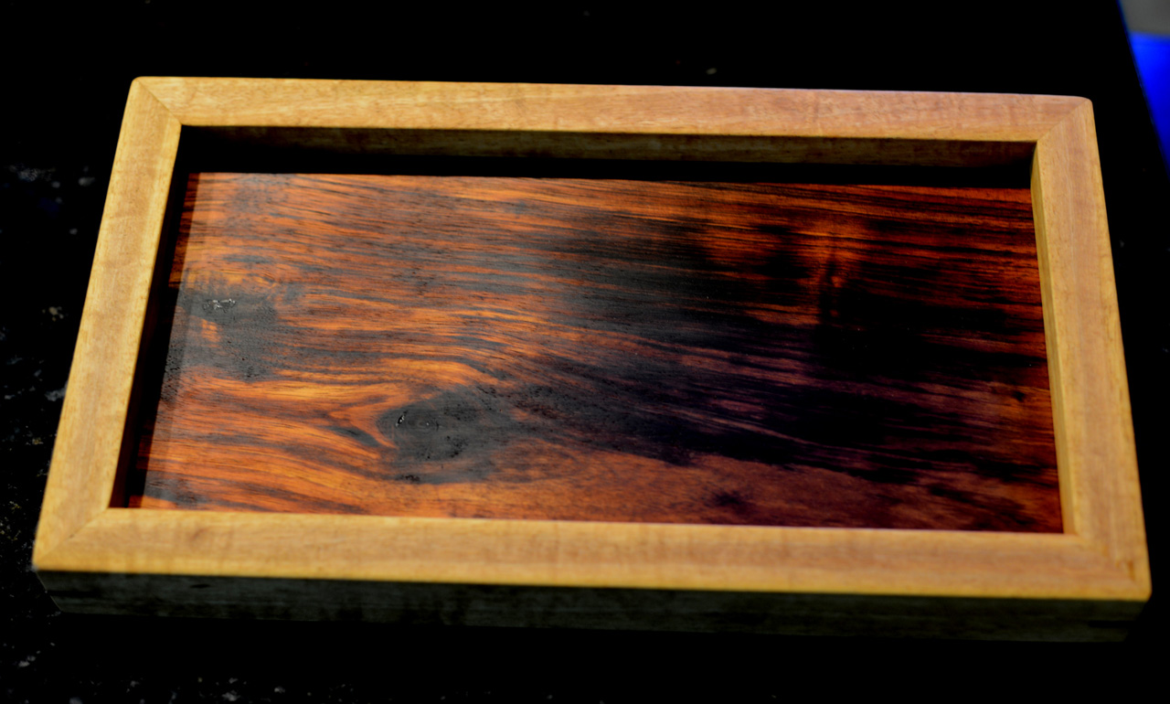 Koa Mango Tray by Gary Forest