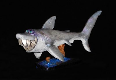 Shark by Steven Lee Smeltzer cartoonish whimsical shark