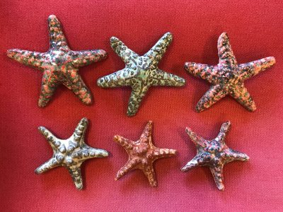 Starfish Magnets by Michelle Espero - Large and Small Examples