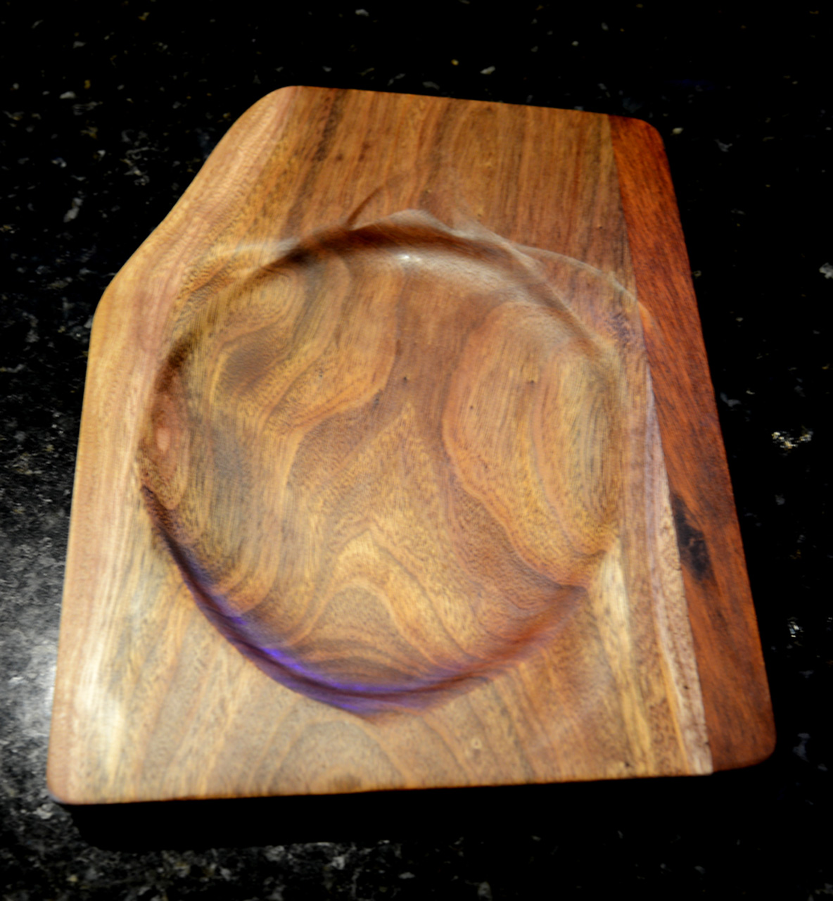 Turtle Tray by Gary Forest wood server tray