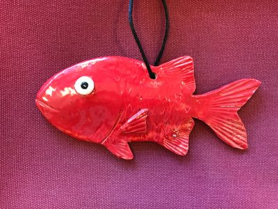 'U'u (Hawai'ian Bigscale Soldierfish) by Michelle Espero - Example
