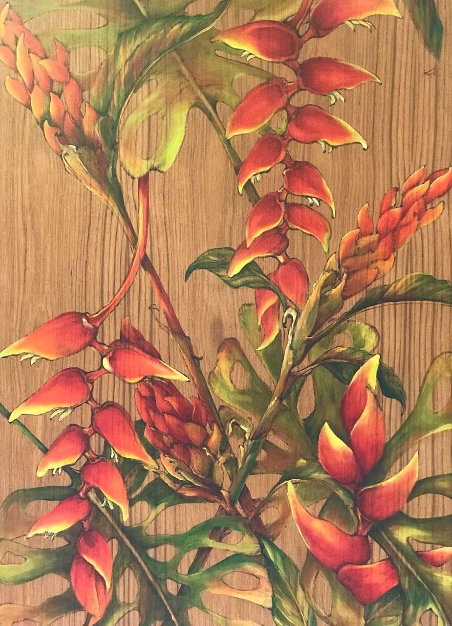 Haiku Garden Oil Painting