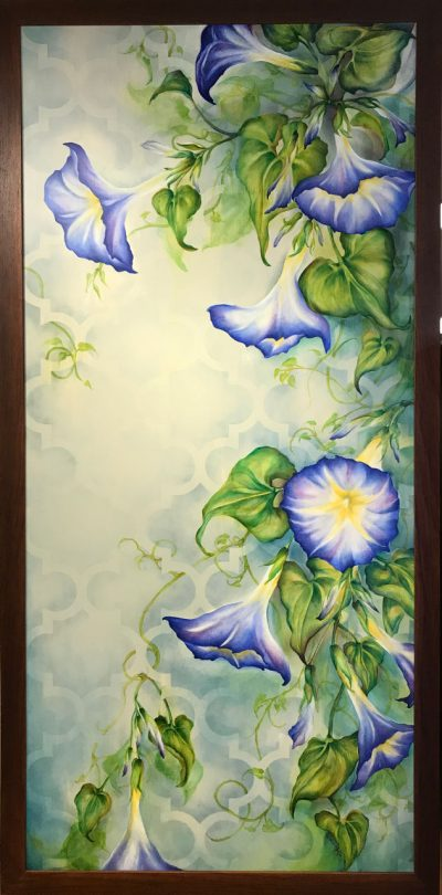 Morning Glory Oil Painting