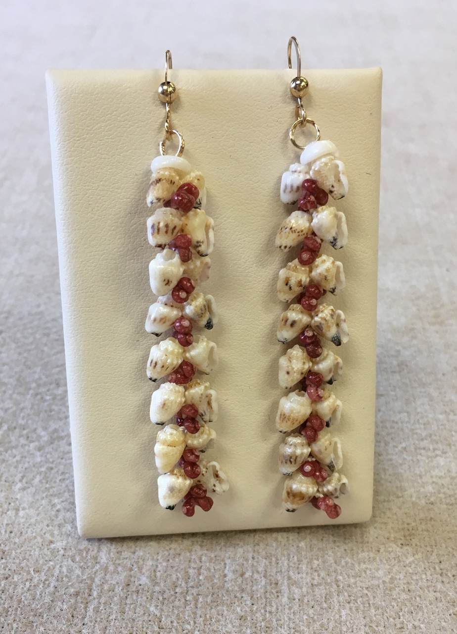 Niihau Niʻihau Heliconia Earrings