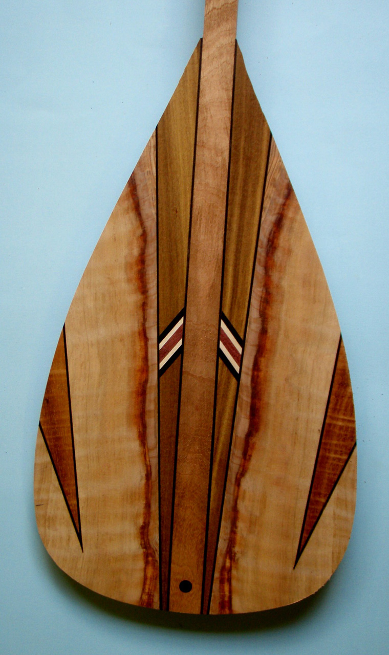 Wood Paddle Blade by Mel Ross