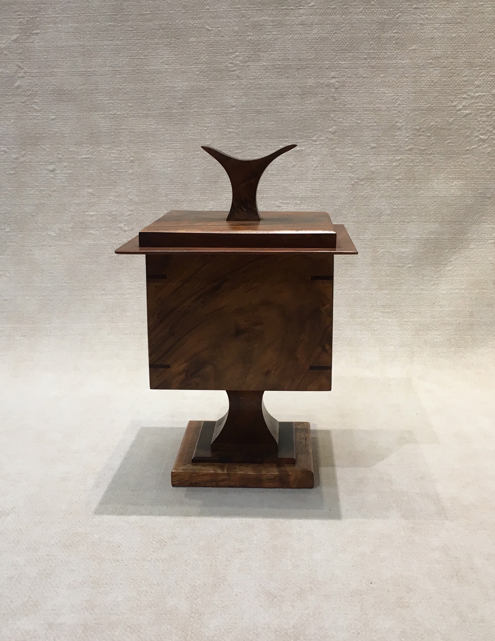 Square Pedestal Box - Front