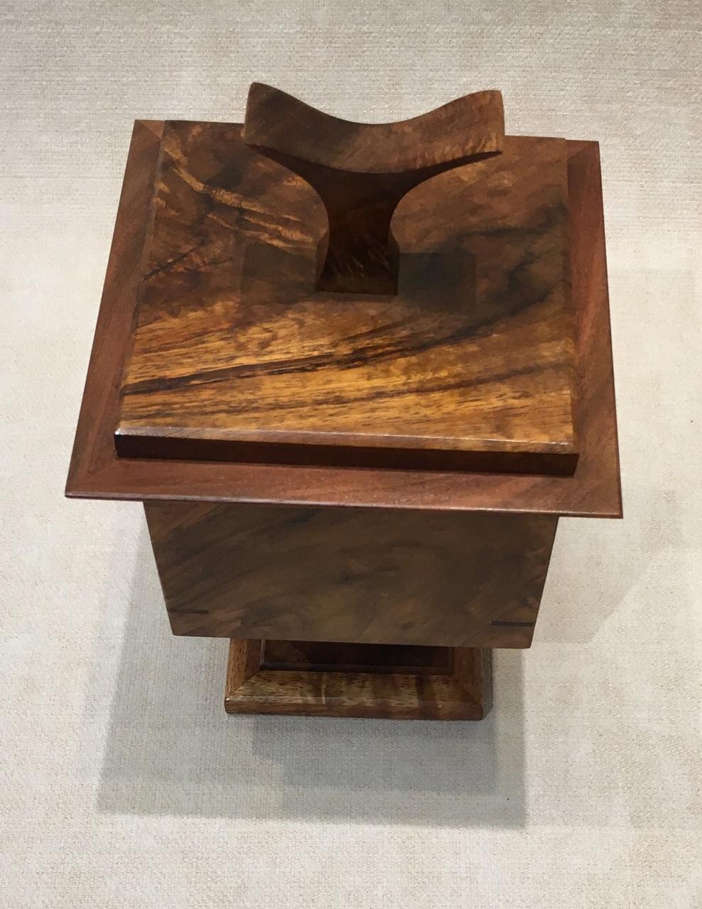 Square Pedestal Box - Top