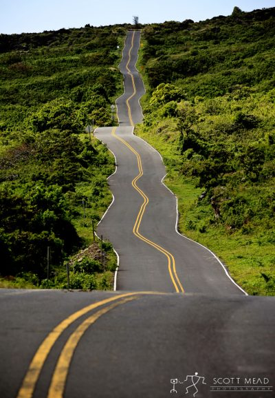 Crooked Mile by Scott Mead long wavy road