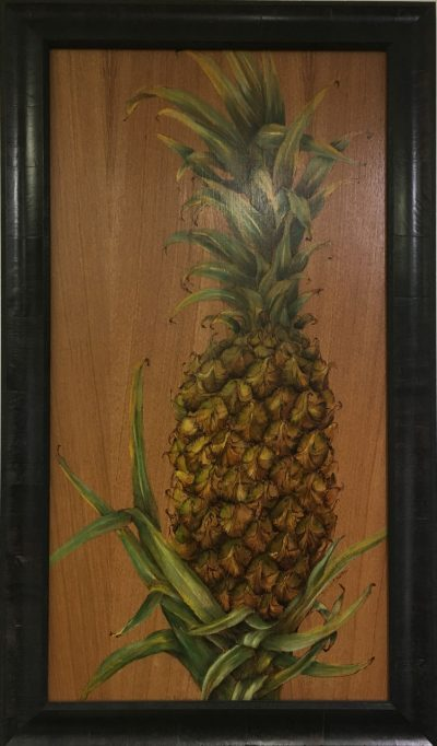Pineapple Oil Painting