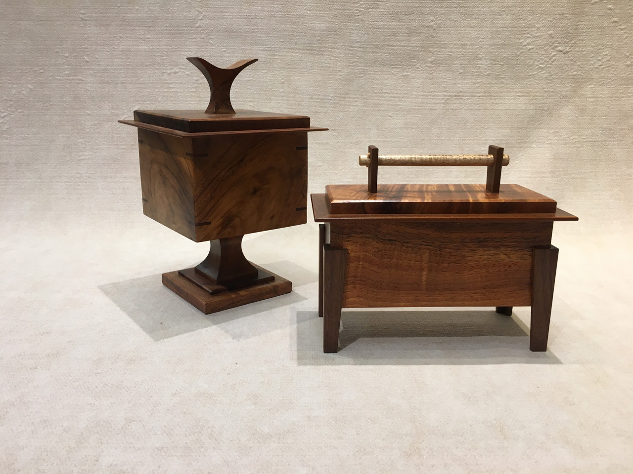 Koa Temple Box Gallery