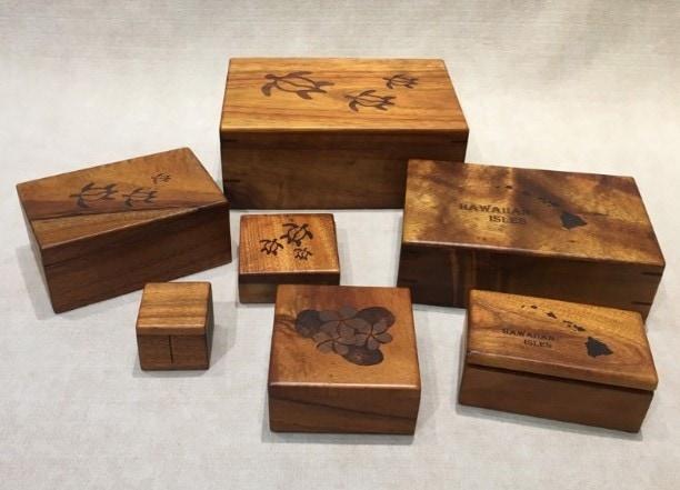 Koa Boxes