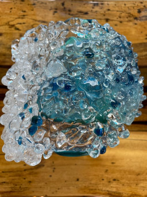 Large Blown Glass Wave by Ryan Staub - RST05