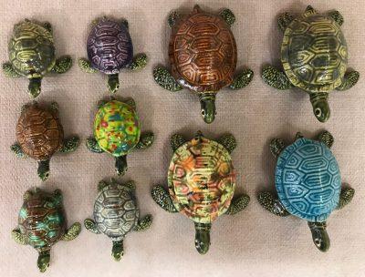 Fancy Turtles by Brian Longerbeam