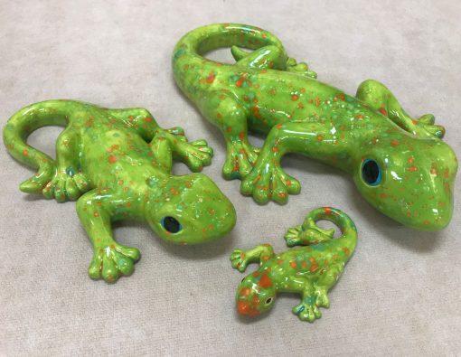 Gecko Family by Brianlongerbeam