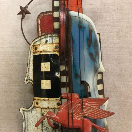 Pegasus Violin Middle View