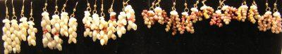 Dangle Earrings with 14kGF Hooks