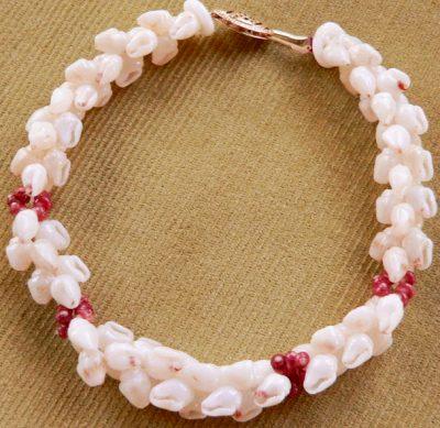 Pikake Bracelet with Kahelelani Accents