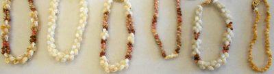 Kipona Pikake and Mauna Loa Bracelets