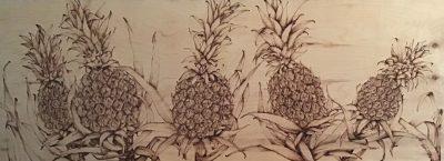 """Pineapple Field"" by Christine Halton"
