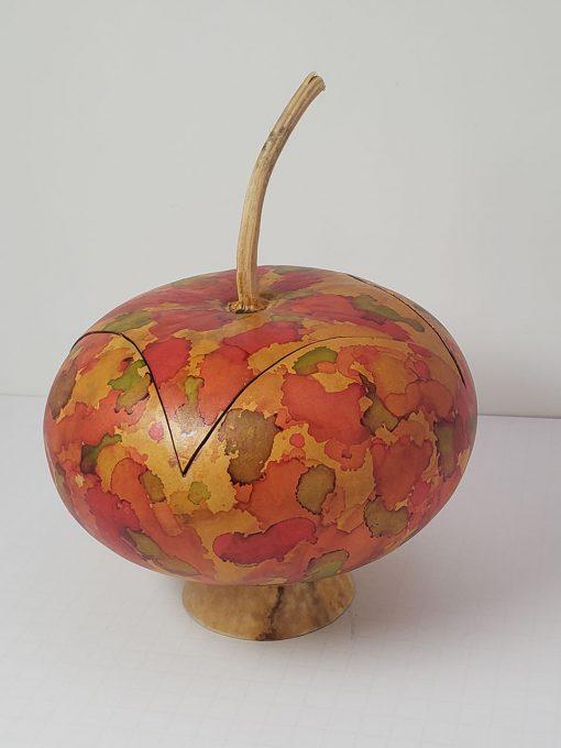 Autumn Inks Gourd by Jaz Staley