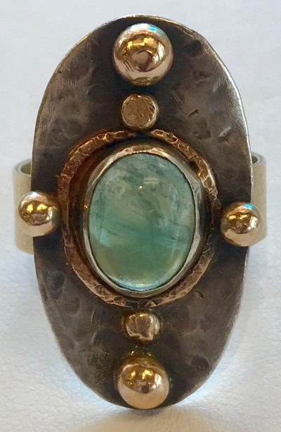 Aquamarine Ring by Pamela Street - PKS0532