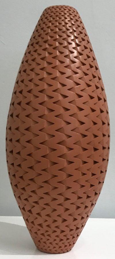 Chocolate Vase by Michael Wisner - MIW1020