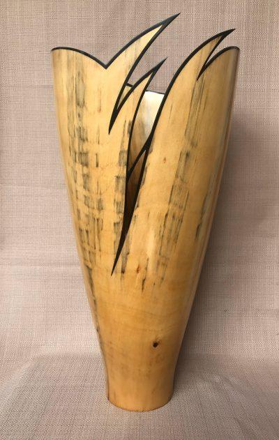 Cook Pine and Ebony Vessel by Gerald Filipelli - GF265 - 1