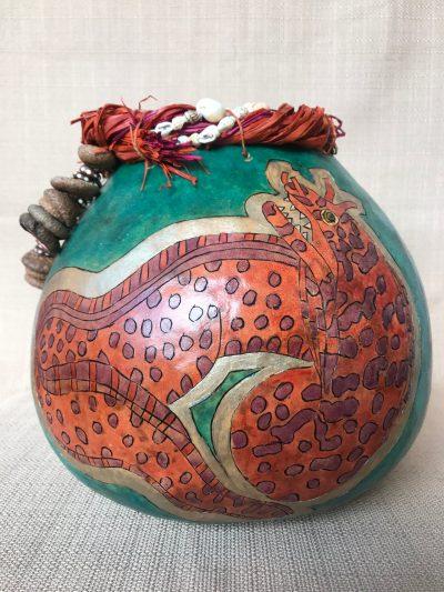 Eel Gourd by Nancy Rhoades - 1