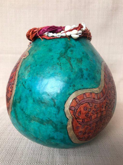 Eel Gourd by Nancy Rhoades - 2