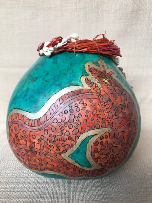 Eel Gourd by Nancy Rhoades - 3