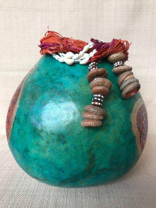 Eel Gourd by Nancy Rhoades - 4